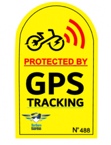 GPS Aufkleber für euer E-Bike