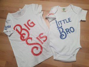 Baby/Kinder Kleidung mit Wunschdruck.